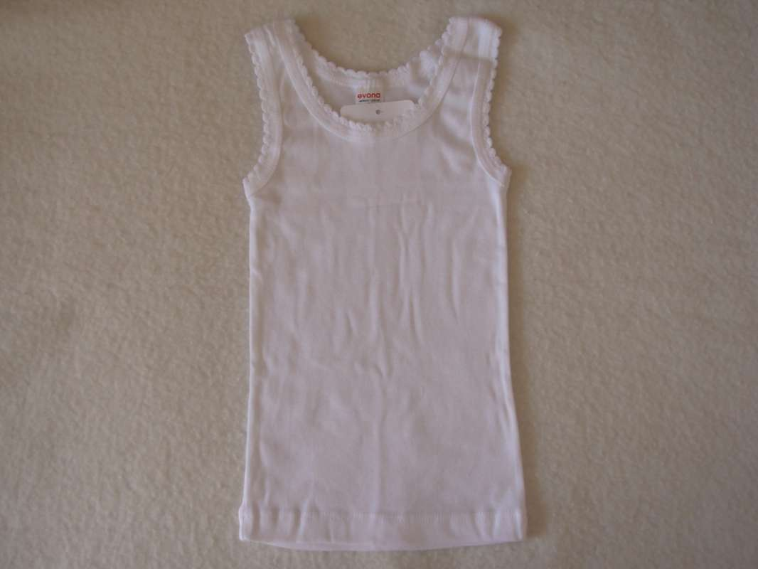 Dívčí košilka - bílá