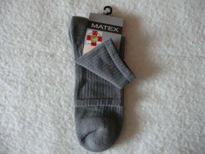 Ponožky Diabetes 2L - tmavě šedá