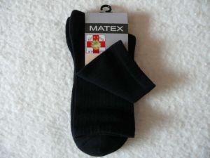 Zdravotní ponožky pro diabetiky Matex Diabetes dr.404 vel. 31-32 antibakteriální Matex pon