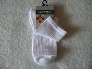 Ponožky Diabetes 2L - bílé