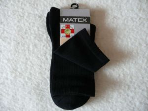 Ponožky Diabetes 2L - černé