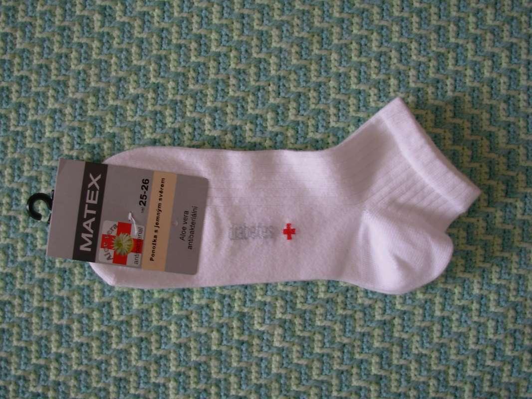 Zdravotní kotníkové ponožky Matex Diabetes dr. 391 vel. 27-28 Matex pon
