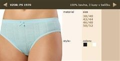 Dámské kalhotky 100% bavlna, Andrie 1970, vel. XXL (50/52)