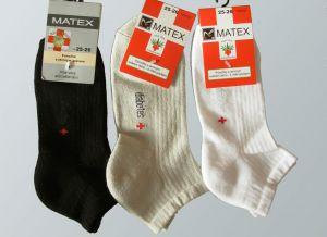 Kotníkové ponožky pro diabetiky Matex Diabetes dr.390, vel. 27-28