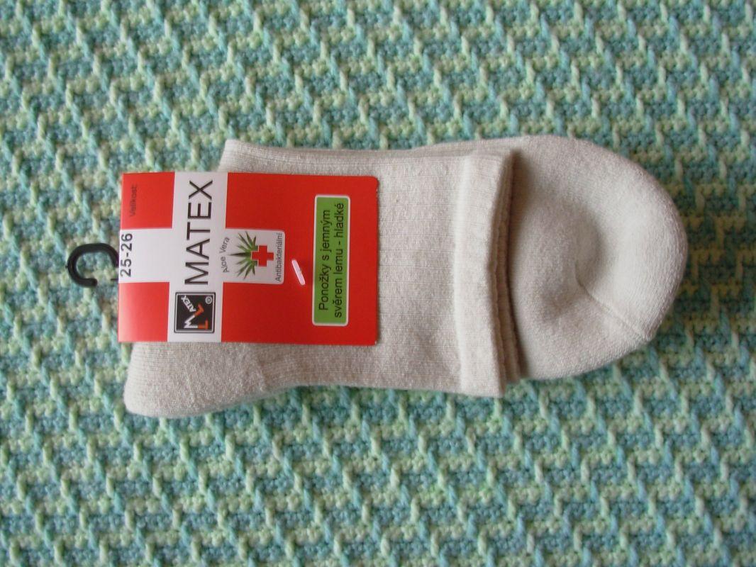c3ee7757964 Zdravotní ponožky pro diabetiky Matex Diabetes dr. 404 vel. 25-26  antibakteriální Matex pon