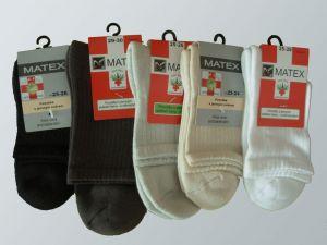 Ponožky Diabetes 2L - dr. 404