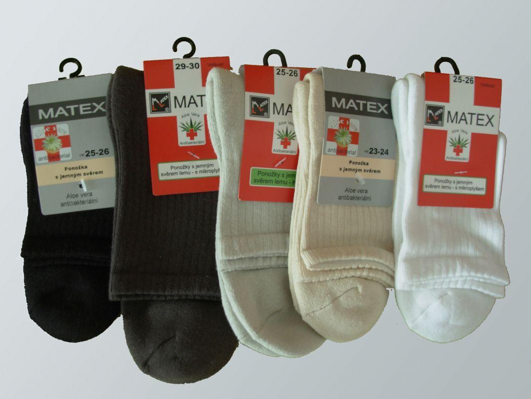 6ac4acd4b55 Zdravotní ponožky pro diabetiky Matex Diabetes dr. 404 vel. 29-30  antibakteriální Matex pon
