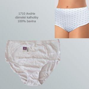Dámské kalhotky 100% bavlna, Andrie 1710, vel. 5XL (62/64)