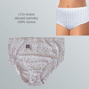 Dámské kalhotky 100% bavlna, Andrie 1710, vel. XL(46/48)