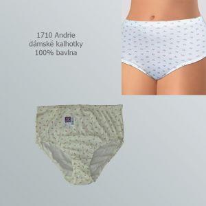 Dámské kalhotky 100% bavlna, Andrie 1710, vel.XXXL (54/56)