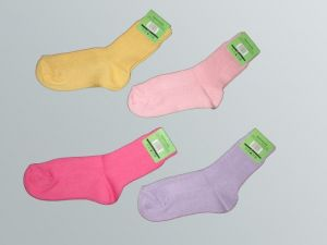 Dětské ponožky Novia, 100% bavlna, vel. 15