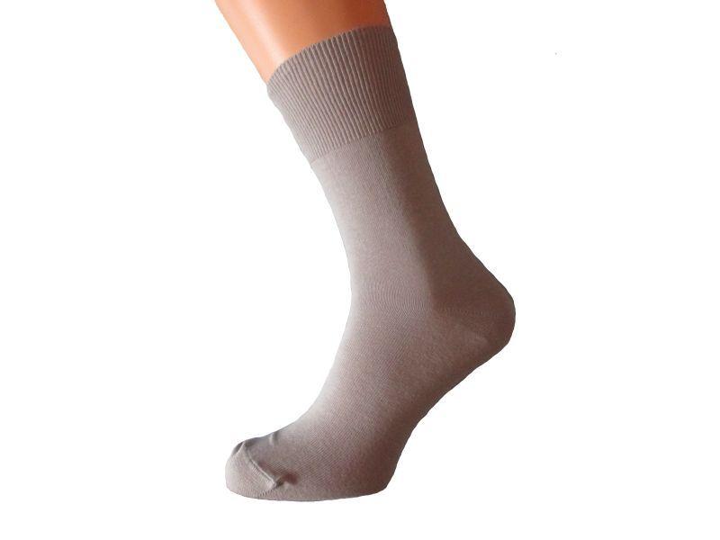 Antibakteriální ponožky bez gumy Bio Stříbro