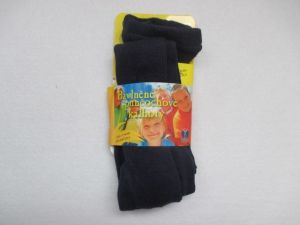 Dětské punčocháče 100% bavlna Novia vel. 74-80 - tmavě modrá Tapo s.r.o.