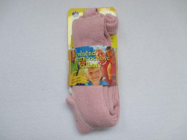 Dětské punčocháče 100% bavlna Novia vel. 74-80 - růžová Tapo s.r.o.