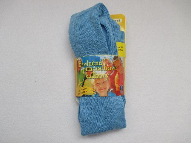 Dětské punčocháče 100% bavlna Novia vel. 80-86 - světle modrá Tapo s.r.o.