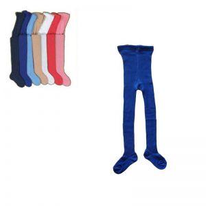 Dětské 100% bavlněné punčocháče - velikost 110-116